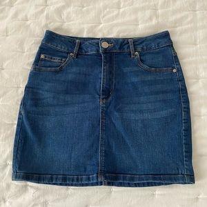 Garage Jean skirt